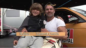 Lolo Cousin et Kylian, futur drifteur, à #Anneau du Rhin #TvLocale_fr