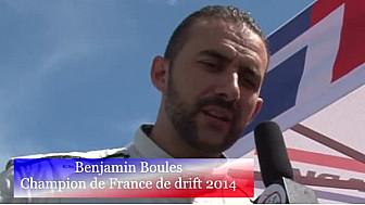 #Benjamin Boulbes, Champion de France de Drift 2015, était à #Anneau du Rhin pour présenter sa nouvelle voiture #Tvlocale_fr