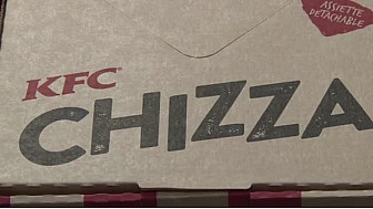 Le KFC Rivetoile vous présente sa nouveauté : #Chizza