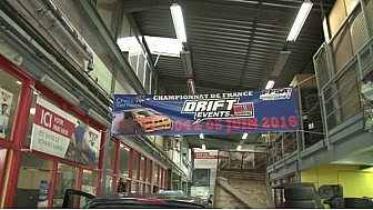 Laurent Cousin est pilote de drift, mais aussi gérant du garage Terence Cars membre du réseau AD