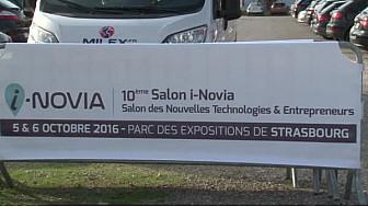 3femmes parlent de leur entreprise au salon #i-Novia